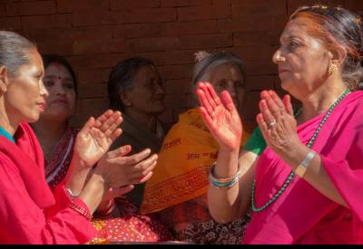 Teej women festival in Nepal