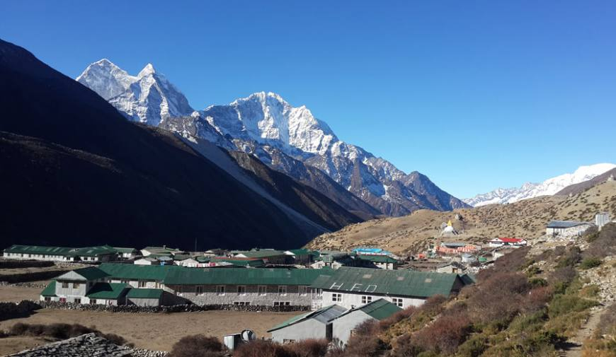 Dingboche Village, 4,400m.