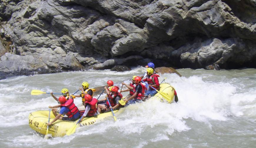River Rafting over Trisuli River