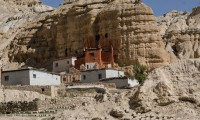 Cave Monostery in Upper Mustang