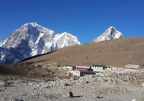 Dingboche to Lobuche (4,940 m/16,207 ft): 4-5 hours