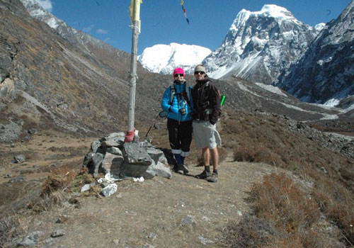 Lama Hotel to Langtang village (3,307 m/10,849ft): 6-7 hours