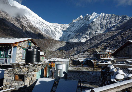 Langtang to KyangjinGompa (3,870m/12,697ft): 4-5 hours