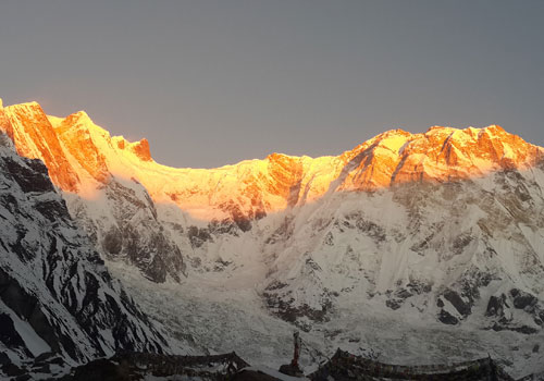 Trek to Annapurna Base Camp (4,130 m) - 5 hrs.