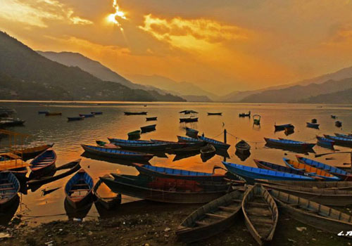 Drive to Pokhara (850m) by tourist bus – 7-8 hrs. or by airplane to Pokhara 30 min.